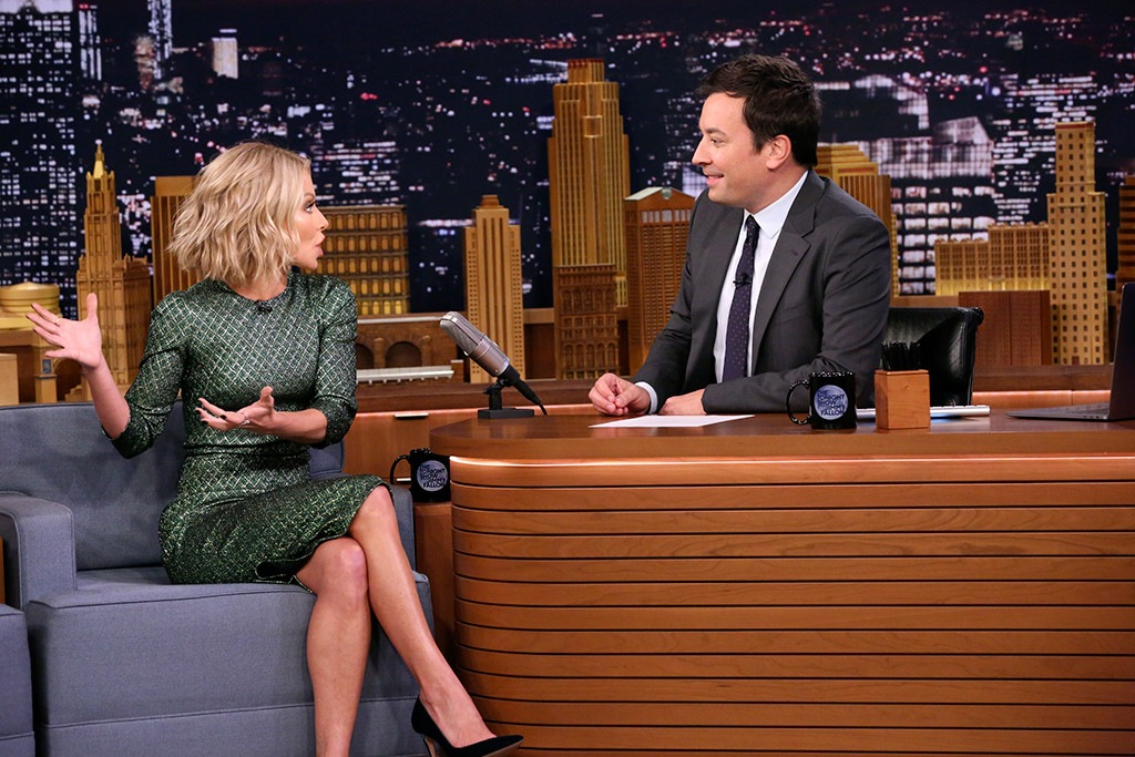 Kelly Ripa, The Tonight Show Starring Jimmy Fallon